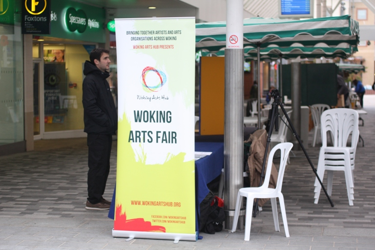 woking arts fair 2017